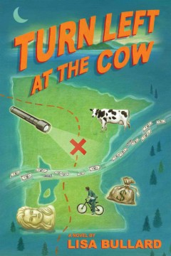 Turn left at the cow cover image