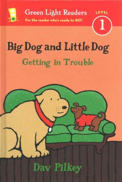 Big Dog and Little Dog getting in trouble cover image