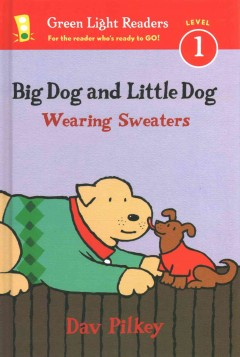Big Dog and Little Dog wearing sweaters cover image