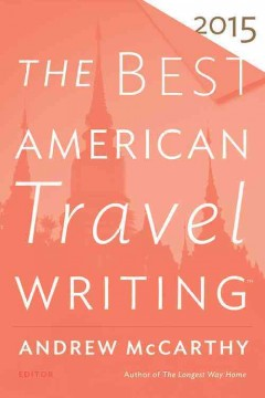 The best American travel writing 2015 cover image
