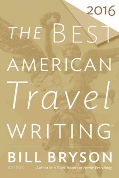 The best American travel writing 2016 cover image