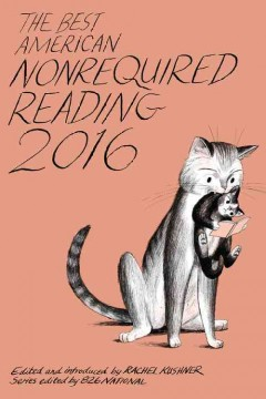 The best American nonrequired reading 2016 cover image