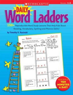 Daily word ladders. Grades 1-2 cover image