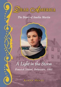 A light in the storm : the diary of Amelia Martin cover image
