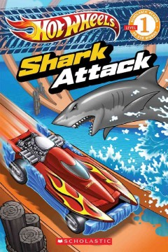 Hot wheels. Shark attack cover image