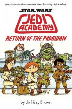 Star Wars Jedi Academy,  Return of the Padawan cover image