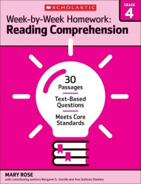 Reading comprehension. Grade 4 cover image
