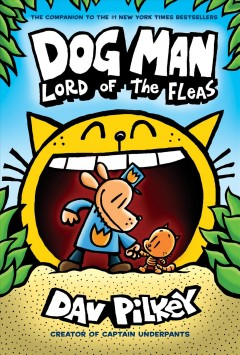 Dog Man. Lord of the fleas cover image