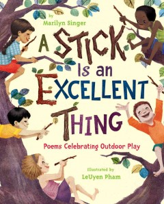 A stick is an excellent thing : poems celebrating outdoor play cover image