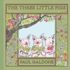 The three little pigs : a folk tale classic cover image