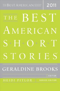 The best American short stories 2011 cover image