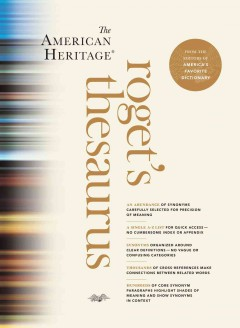 The American Heritage® Roget's Thesaurus cover image