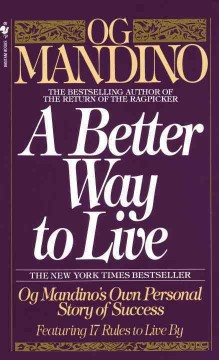 A better way to live cover image