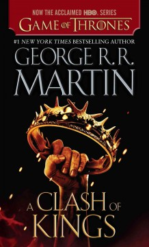 A clash of kings a song of ice and fire: book two cover image