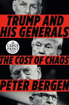 Trump and his generals the cost of chaos cover image
