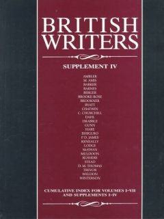British writers. Supplement IV cover image