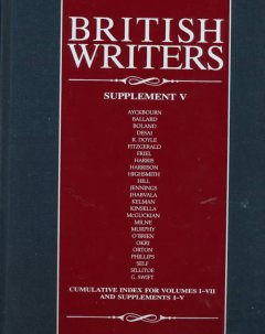 British writers. Supplement V cover image