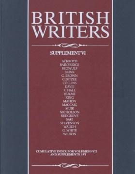 British writers. Supplement VI cover image