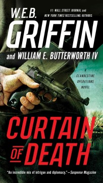 Curtain of death a Clandestine operations novel cover image