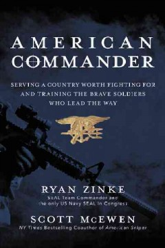 American commander : serving a country worth fighting for and training the brave soldiers who lead the way cover image