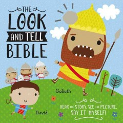 The look and tell Bible cover image
