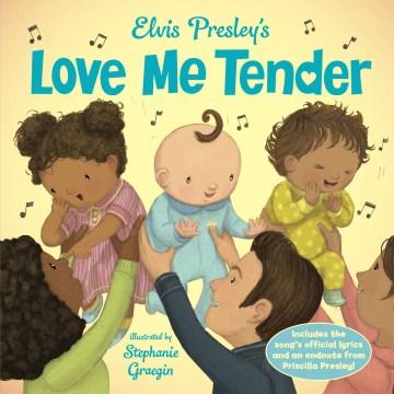 Elvis Presley's Love me tender cover image