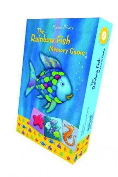 The rainbow fish memory game cover image