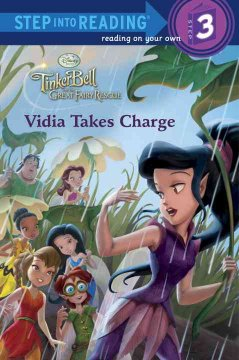 Tinkerbell and the great fairy rescue. Vidia takes charge cover image