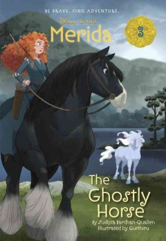 The ghostly horse cover image