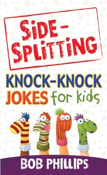 Side-splitting knock-knock jokes for kids cover image