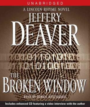 The broken window cover image