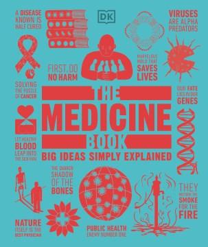 The medicine book cover image