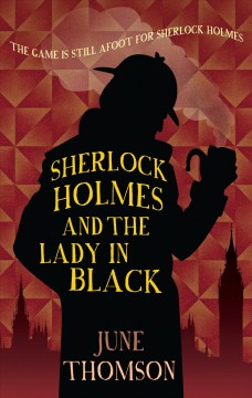 Sherlock Holmes and the lady in black cover image