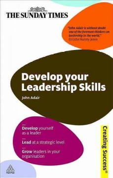 Develop your leadership skills cover image