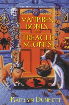 Vampires, bones, and treacle scones cover image