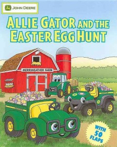 Allie Gator and the Easter egg hunt cover image