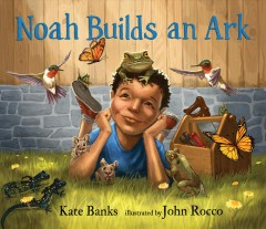 Noah builds an ark cover image