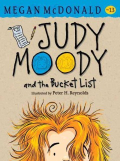 Judy Moody and the bucket list cover image
