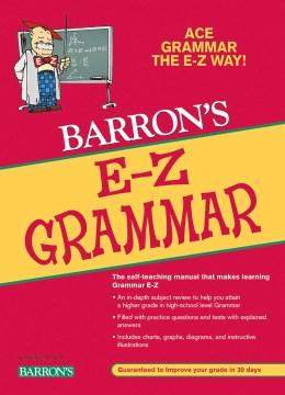 Barron's E-Z grammar cover image