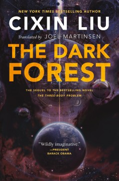 The dark forest cover image