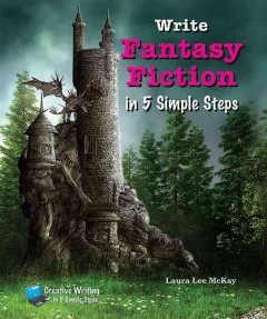 Write fantasy fiction in 5 simple steps cover image