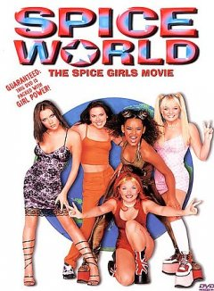 Spice world the Spice Girls movie cover image