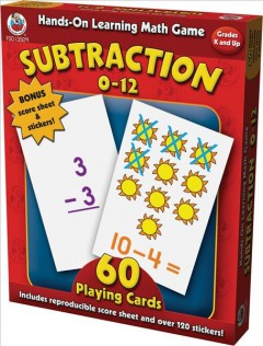 Subtraction 0-12 cover image