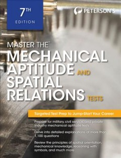 Master the mechanical aptitude and spatial relations tests cover image