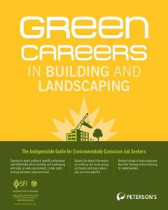 Green careers in building and landscaping cover image