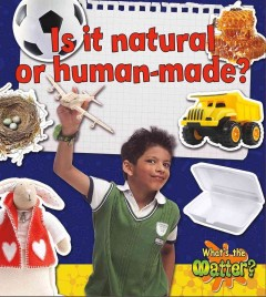 Is it natural or human-made? cover image