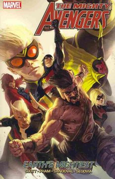 Mighty Avengers.  Earth's mightiest cover image