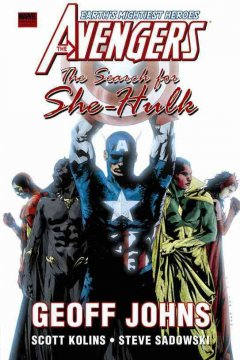 The Avengers. The search for She-Hulk cover image