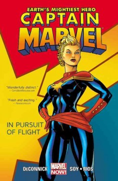 Captain Marvel. [Vol. 1], In pursuit of flight cover image