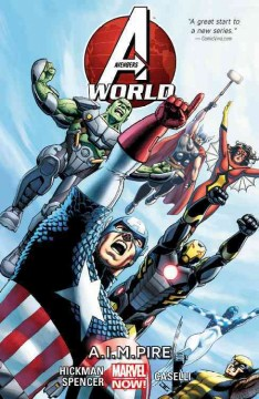 Avengers world. Vol. 1, A.I.M.pire cover image